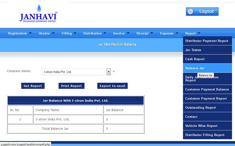 software for water jar suppliers
