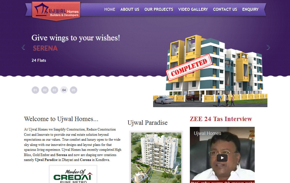 website design and developement for Constructions, Real Estate, Builders, Land Developers